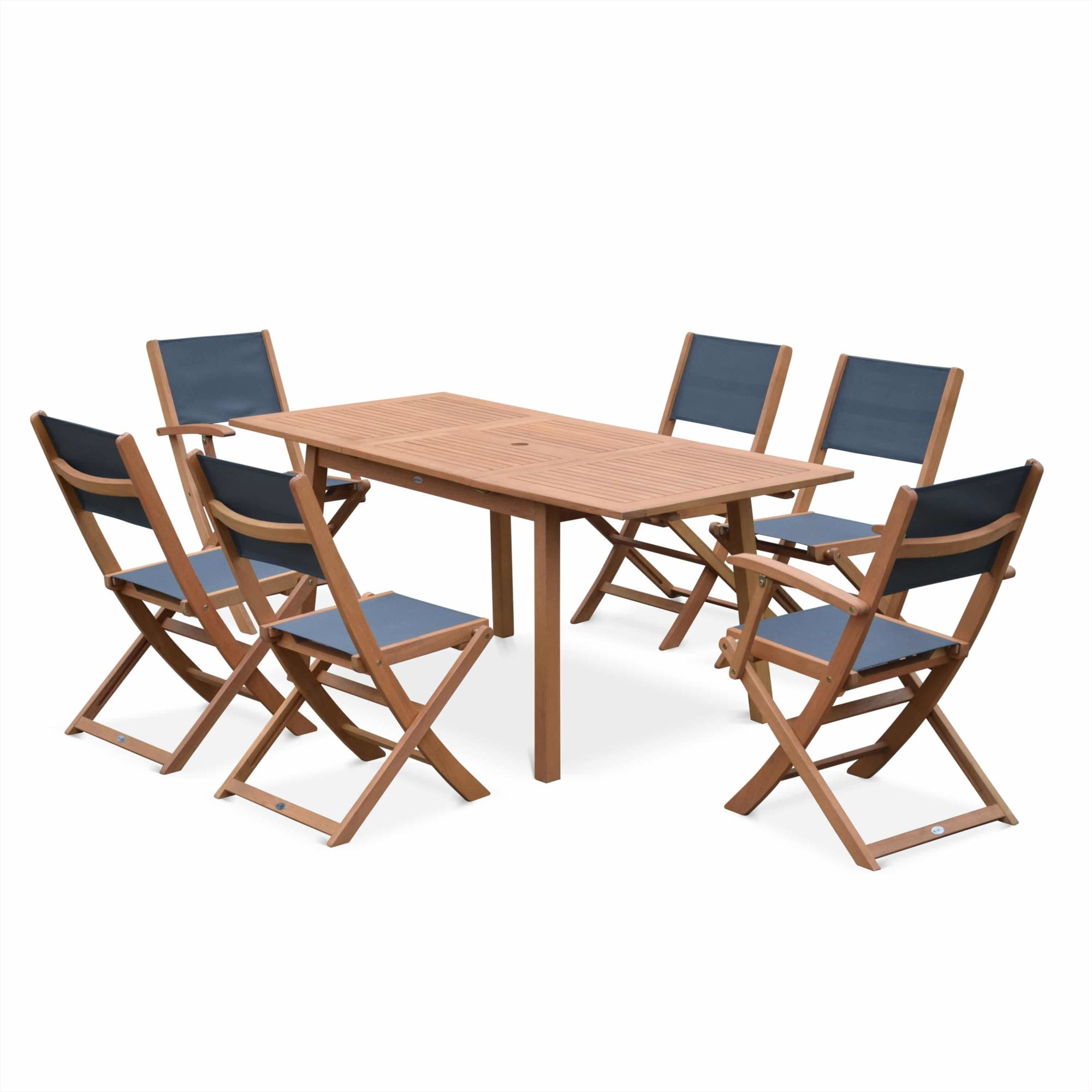 Almeria Dining Table 180cm with chairs and Armchairs Grey